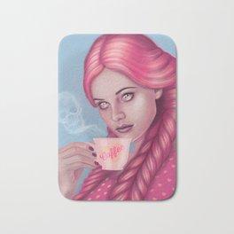 My Blood Type is Coffee Bath Mat