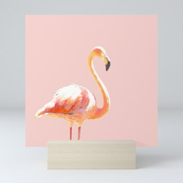 Pink Flamingo Mini Art Print