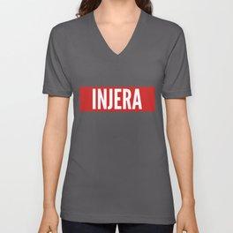 Injera Habesha Eritrea Proud Ethiopia Gift Idea product Unisex V-Neck
