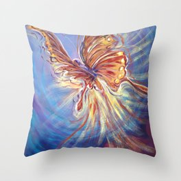 Metamorphasis Throw Pillow