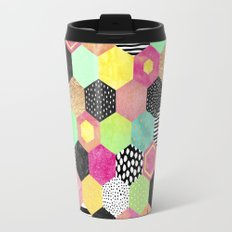 Color Hive Travel Mug