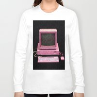 inside gaming Long Sleeve T-shirts featuring Retro Gaming by Cullen Rawlins