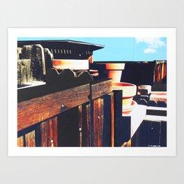 GATERA STUDY 53 Art Print