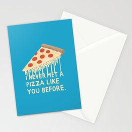 Sweet Pizza Stationery Cards