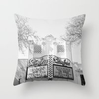 hitchcock Throw Pillows featuring Hitchcock by Devic Fotos