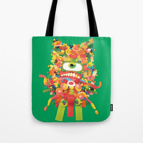 Sweet Monster Tote Bag