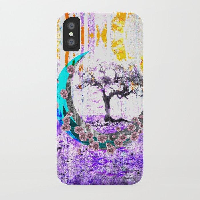 MOONLET TREE iPhone Case