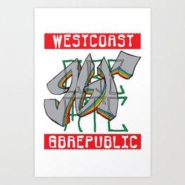 GBR CREATE Art Print