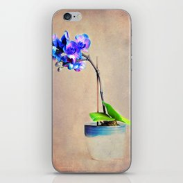 blue Orchid iPhone Skin
