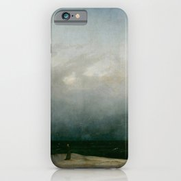 The Monk by the Sea iPhone Case