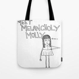 Melancholy Molly Tote Bag