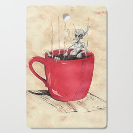 Cluster Coffee Break Cutting Board