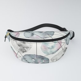 Orbiting Asteroid Pattern Fanny Pack