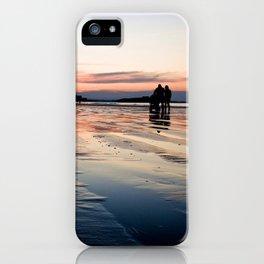 Saint Malo au coucher du soleil / Sunset in Saint Malo iPhone Case