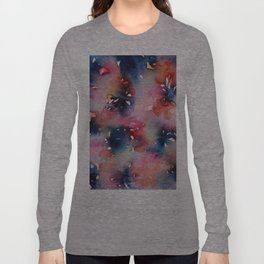 Pink Flowers Perfume Long Sleeve T-shirt
