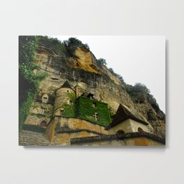Buildings in nature Metal Print