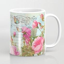 Vintage Flowers #3 Coffee Mug