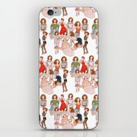 dirty dancing iPhone & iPod Skins featuring Dirty Dancing - New version by Naineuh