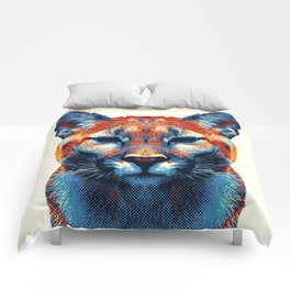 Puma -  Colorful Animals Comforters