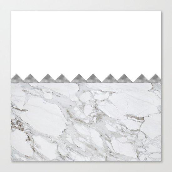 Adoring Grey Canvas Print