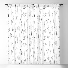 Wildflowers Blackout Curtain