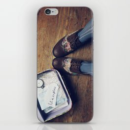 Let's Explore! iPhone Skin