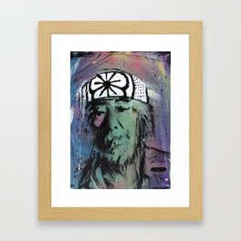 Wax On Framed Art Print