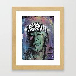 Wax On Framed Art Print