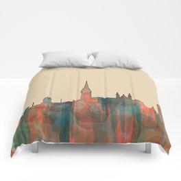 Cork, Ireland Skyline - Navaho Comforters