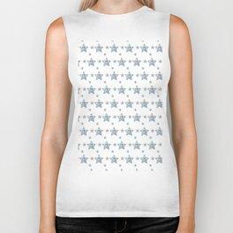 Silver Stars Biker Tank