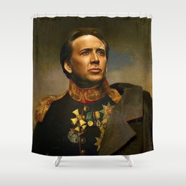 Nicolas Cage Shower Curtain