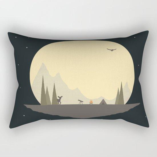 Stop For the Night Rectangular Pillow