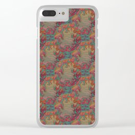 Cotton Candy Sea Clear iPhone Case
