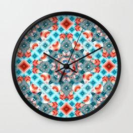 Decorative Lovebirds Wall Clock