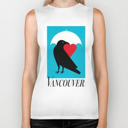Vancouver's Canuck the Crow Biker Tank