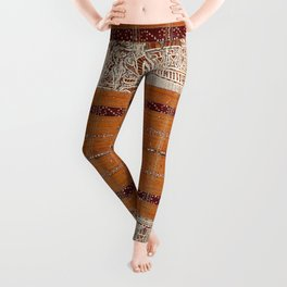 Tapis Lampong South Sumatra Indonesian Wrap for Woman Print Leggings