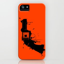 Grunge Gun iPhone Case