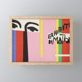 Cover design for exhibition catalogue by Henri Matisse Framed Mini Art Print