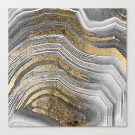 Abstract paint modern Canvas Print