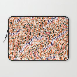 red topography Laptop Sleeve