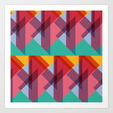 Crazy Abstract Stuff 3 Art Print