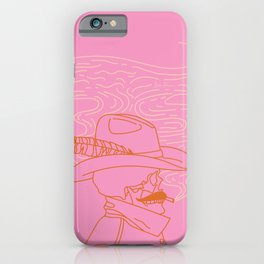 Love or Die Tryin' - Cowhand iPhone Case
