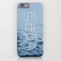 Let's Run Away: Ocean iPhone 6 Slim Case