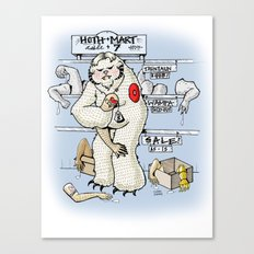 Hoth.Mart Canvas Print