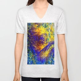 abstract kk Unisex V-Neck