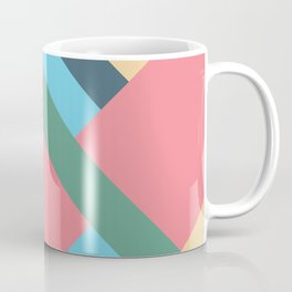 Mid Century Pastel Coffee Mug