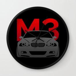 BMW E46 M3 Wall Clock