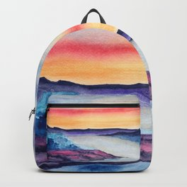Abstract nature 08 Backpack