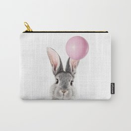 Bunny With Balloon Carry-All Pouch