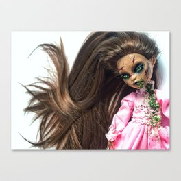 Custom Exorcist Doll Canvas Print